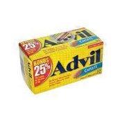 Advil 200 Mg 25% Bonus Caplets