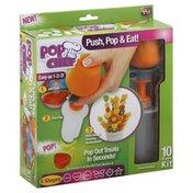 Pop Chef Fruit Shape Cutter, 10 Piece