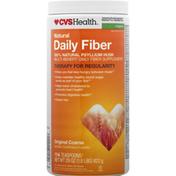 CVS Health Daily Fiber, Natural, Original Coarse