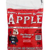 Papas Premium Quality Grilling and Smoking Pellets, Apple