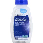 Equaline Antacid, Regular Strength, 500 mg, Chewable Tablets, Peppermint Flavor