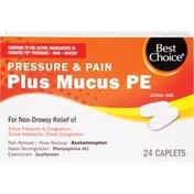 Best Choice Pressure & Pain Plus Mucus Pe