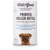 Well & Good Printed Hair Roll Refill Wlgd