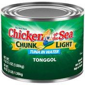 Chicken of the Sea Tonggol in Water Light Tuna