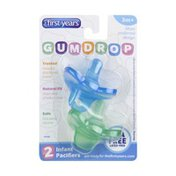 The First Years 3 Months+ Gumdrop Infant Pacifiers
