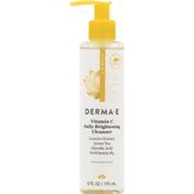 DERMA E Cleanser, Daily Brightening, Vitamin C
