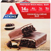 Atkins Cookies & Créme Protein-Rich Meal Bar