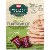 Hormel 2 Turkey & Cheddar Flatbread Kit