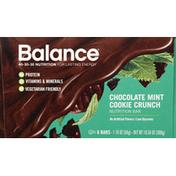 Balance Bar Nutrition Bar, Chocolate Mint Cookie Crunch