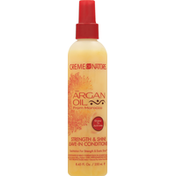 Creme of Nature Leave-In Conditioner, Argan Oil From Morocco, Strength & Shine