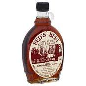 Reds Best Maple Syrup, 100% Pure, Dark Robust