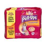 Huggies Pull-Ups Learning Designs Disney Princess Size 2T-3T Training Pants - 58 CT