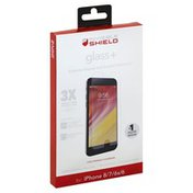 Zagg Screen Protector, Glass +, for iPhone 8/7/6s/6