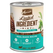 Merrick Limited Ingredient Diet Grain Free Real Duck Recipe Canned Dog Food