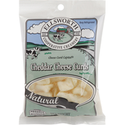 Ellsworth Cooperative Creamery Cheddar Cheese Curds, Natural