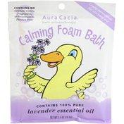 Aura Cacia Foam Bath, Calming, Lavender Essential Oil