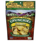 Crunchies Snack, Pineapple, Freeze Dried, Pouch