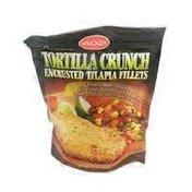Wholey Premium Tortilla Crunch Encrusted Tilapia Fillets