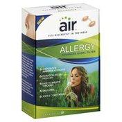 Air Nasal Filter, Advanced