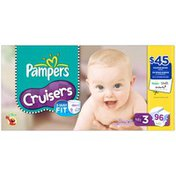 Pampers Cruisers Super Pack Size 3 Diapers