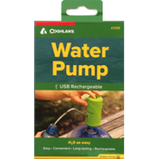 Coghlans Water Pump, USB Rechargeable