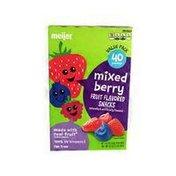 Meijer mixed berry FRUIT FLAVORED SNACKS
