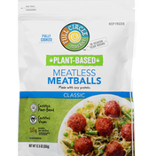 Full Circle Meatballs, Classic, Meatless, Plant-Based