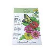 Botanical Interests Organic Zinnia Thumbelina Seeds