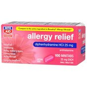 Rite Aid Diphenhydramine Hcl 25 Mg Allergy Relief