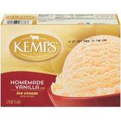 Kemps Homemade Vanilla Flavored Ice Cream