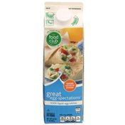 Food Club Great Egg-Spectations 100% Liquid Egg Whites
