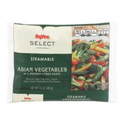 Hy-Vee Steamable Asian Vegetables In A Premium Citrus Sauce