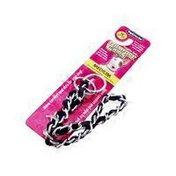 "Petmate Mighty Link Medium Comfort Chain In Black 16"" Length"