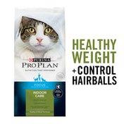 Purina Pro Plan Hairball, Healthy Weight, Indoor Dry Cat Food, FOCUS Indoor Care Turkey & Rice Formula