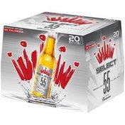 Budweiser Select 55 Light Beer Bottles