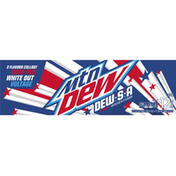 Mtn Dew Code Red White Out Voltage Soda