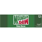 Mtn Dew Throwback Soda