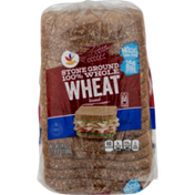 Ahold Stone Ground 100% Wheat Bread