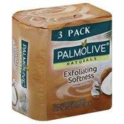 Palmolive Soap, Exfoliating Softness, Coconut & Cotton