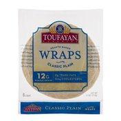 Toufayan Wraps, Plain