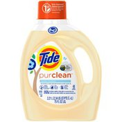 Tide Purclean Plant-based Laundry Detergent, Unscented Tide Purclean Plant-based Laundry Detergent, Unscented