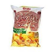 Marty's Cracklin' Salt & Vinegar Vegetarian Chicharon