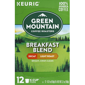 Green Mountain Coffee K-Cup Pods Breakfast Blend