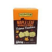 Fresh Thyme Natural Maple Leaf Creme Cookies