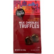 Culinary Tours Milk Chocolate Premium Belgian Chocolatetruffles