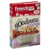 Freedom Foods Cereal, Allergen Free, All Round Goodness, Natural Maple Syrup
