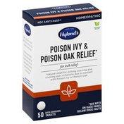 Hyland's Poison Ivy & Poison Oak Relief, Quick-Dissolving Tablets