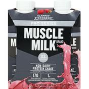 CytoSport Muscle Milk Protein Shake, Non-Dairy, Slammin' Strawberry