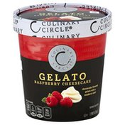 Culinary Circle Gelato, Raspberry Cheesecake