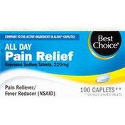 Best Choice Naproxen Sodium Pain Relief Caplets